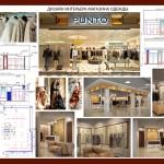 ДИзайн-проект бутика, дизайн интерьеров, дизайн старый оскол