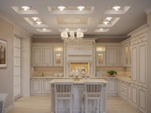 дизайн кухни, кухня класситка, старый оскол дизайн интерьеров, классический сстиль