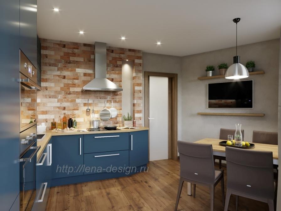 Дизайн-проект 1-комнатной квартры, дизайн интерьеров, интерьеры под ключ, дизайнпроекты, лена-дизайн