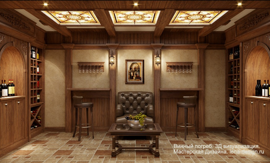 Винный погреб, погребок, дизайнпроект винного погреба, отделка винного погребя, дизайнинтерьеров