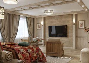 дизайн спальни, спальня в загородном доме, прованк , шеби шик.