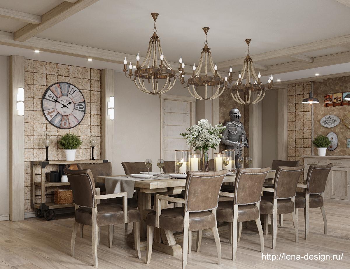 дизайн столовой, спальня в загородном доме, прованк , шеби шик.