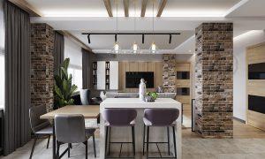 гостиная, дизайнгостиной, квартира-студия, дизайнпроект, план потолков, дизайн квартиры, ремонт и отдклка