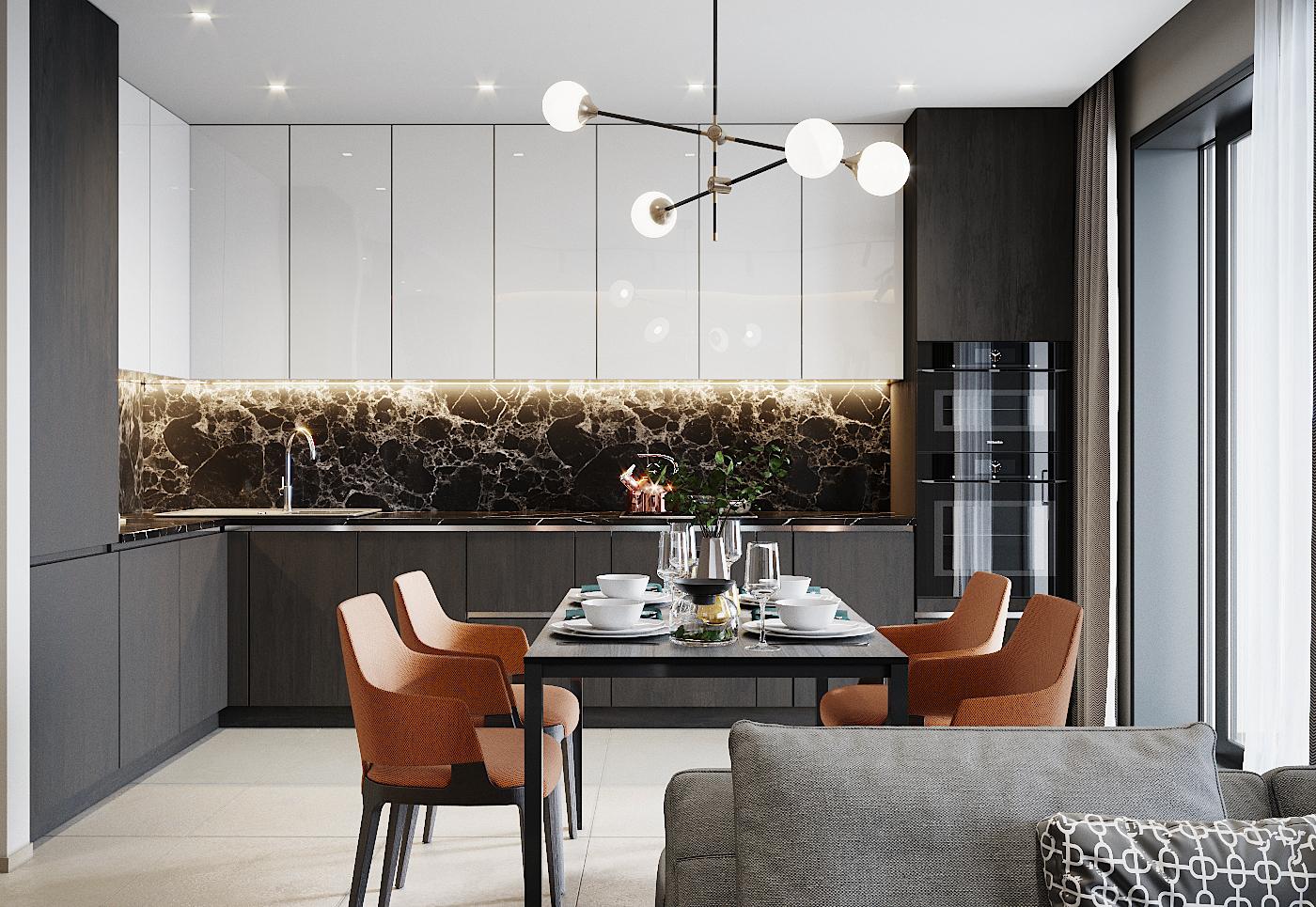 кухня, дизайн квартиры